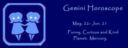 gemini horoscope and astrology prediction for man and women
